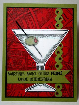Punchy Martini