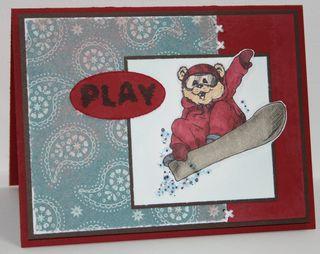 Winter-bear-snowboard